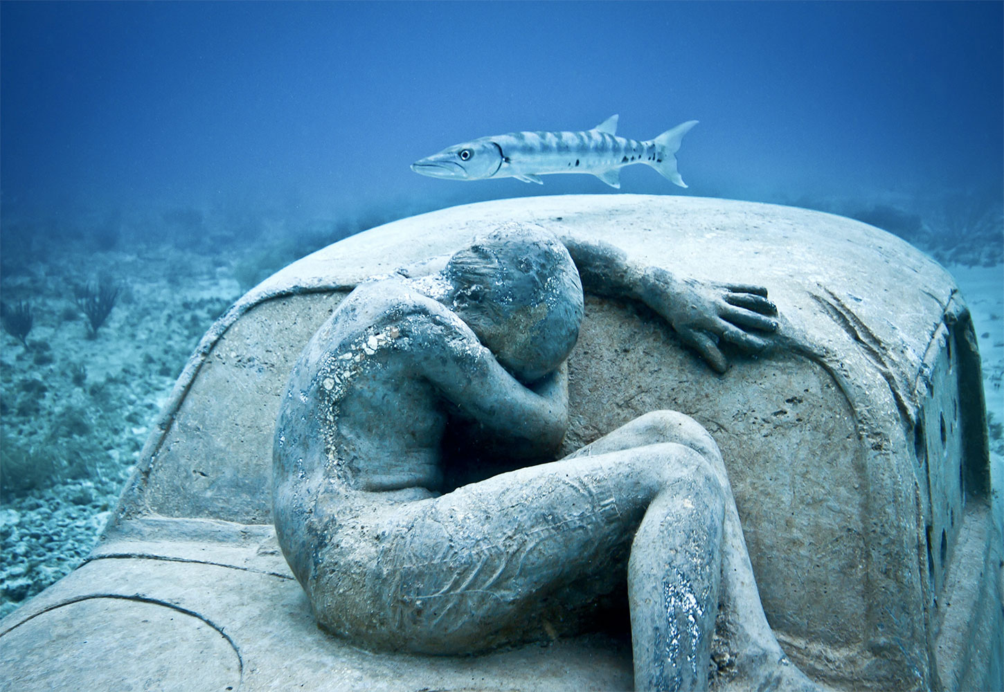 Anthropocene, by Jason deCaires Taylor