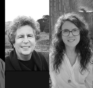 Arthur Sze, Susan Cohen, Kristina Moriconi, and Cameron Walker