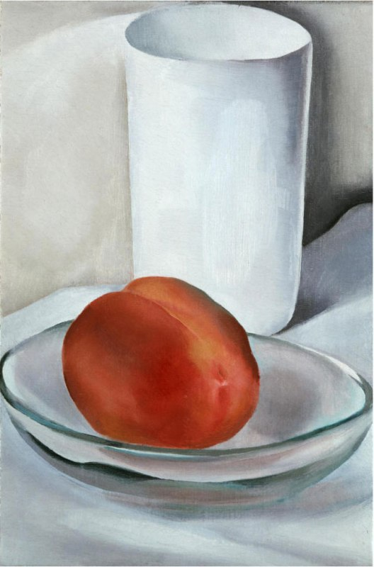 Peach and Glass, Georgia O'Keeffe