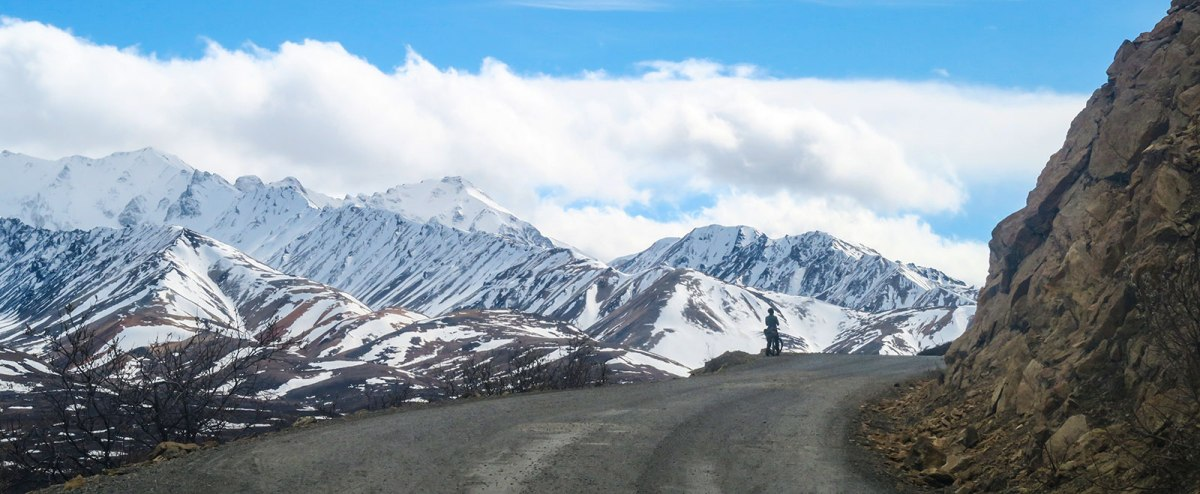 Polychrome Pass in spring