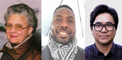 Rhina P. Espaillat, Chaun Ballard, and Lee Herrick