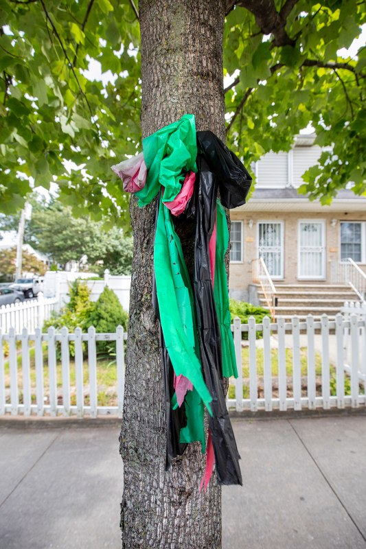 Staten Island, Black Flag Colored Ribbons