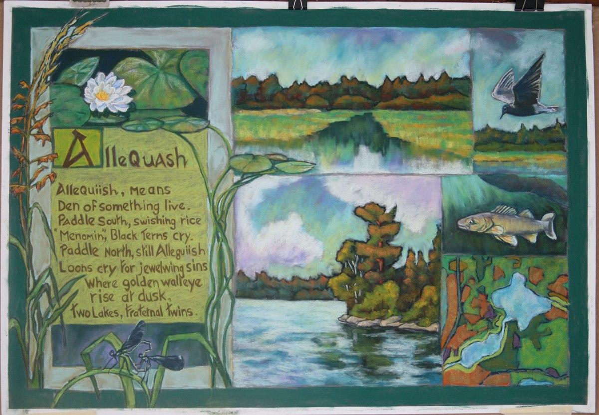 Allequash Lake, by Terry Daulton