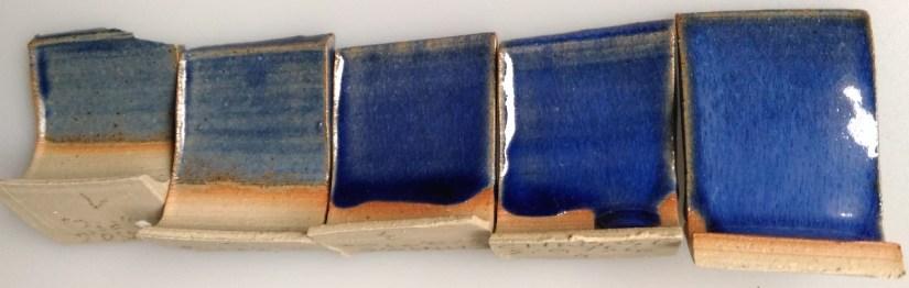 test épaisseur bleu cobalt