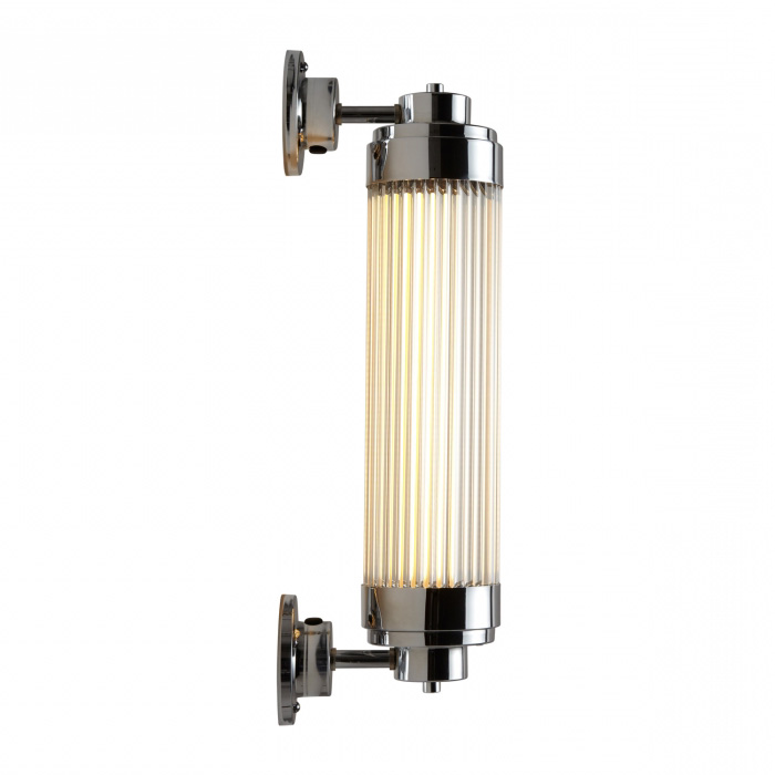 dimmable art deco outdoor light with