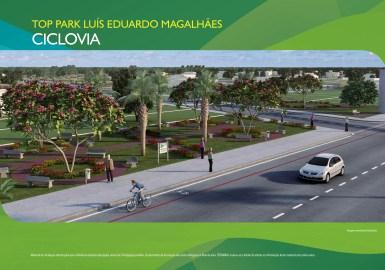 Loteamento Top Park - Terramac Empreendimentos - Ciclovia