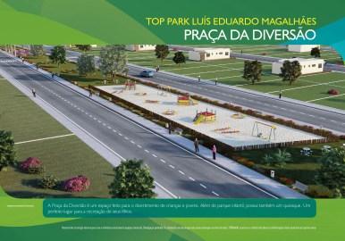 Loteamento Top Park - Terramac Empreendimentos - Praça da Diversão