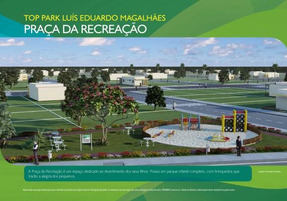 Loteamento Top Park - Terramac Empreendimentos - Praça da Recreação