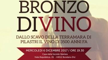 Bronzo DiVino: il 6 dicembre serata archeo-enogastronomica