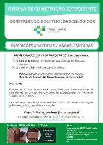 Convite Oficina Santa Luzia