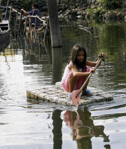 inondazione cambiamenti climatici
