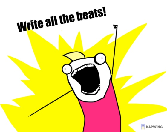 I Didn't Understand Beats: Time to start writing (real) beats