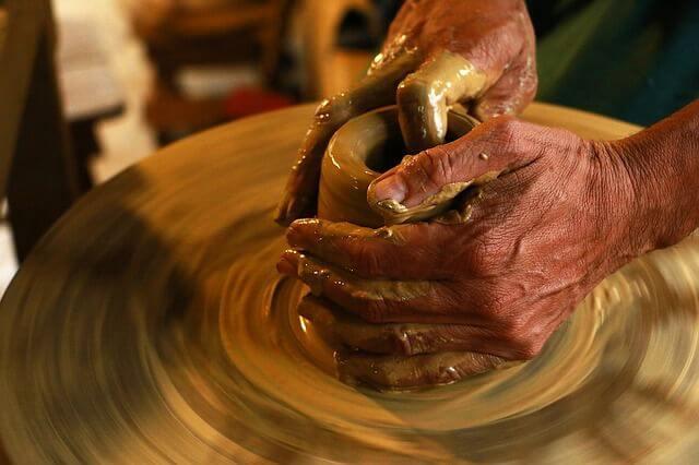 mezcla de barro ceramico para escultura funeraria