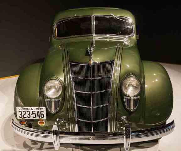 Chrysler Airflow de los años 30