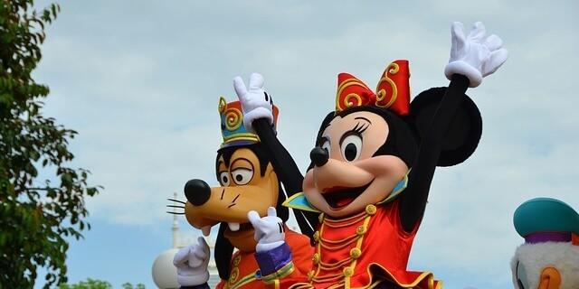 Goofy, junto a Mickey Mouse en Disney