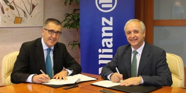 Firma del acuerdo entre ALLIANZ y Aldeas Infantiles SOS