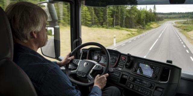 Conductor profesional de un camión.