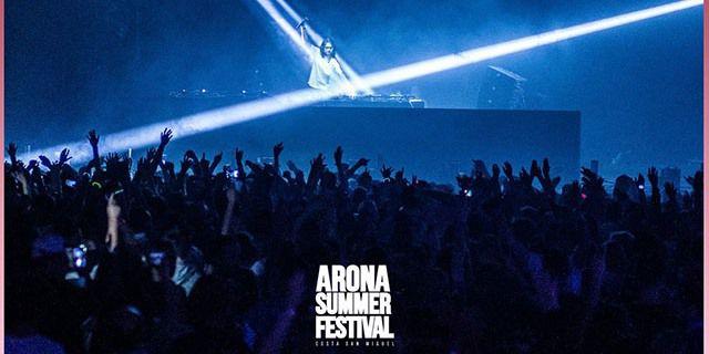 Festival Arona Summer en las Islas Canarias.
