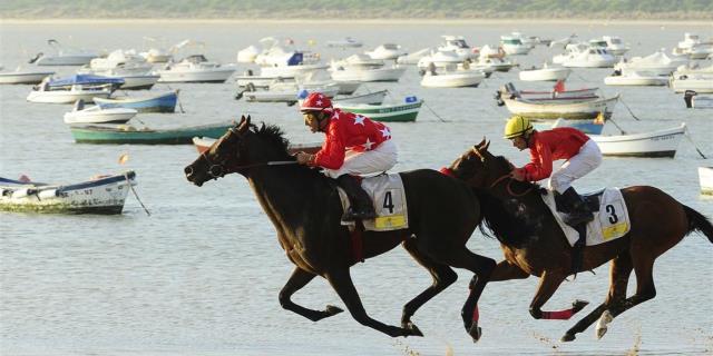 Las carreras de caballos en Sanlúcar
