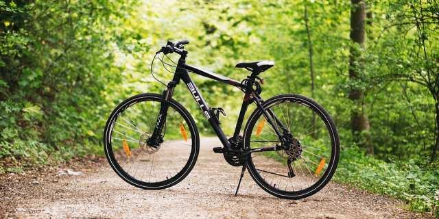 Bicicleta de montaña estándar.