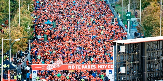 PONLE FRENO MADRID 2017 CON 20 MIL PERSONAS CORRIENDO POR LA CAPITAL