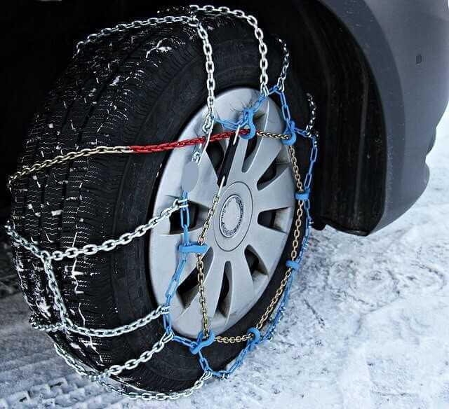 Como poner cadenas para la nieve.