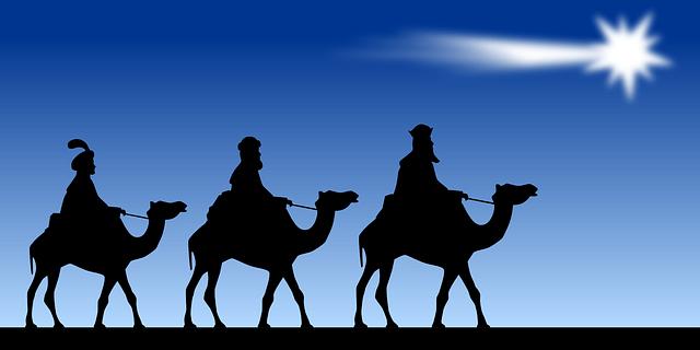 Cabalgata de los Reyes Magos.