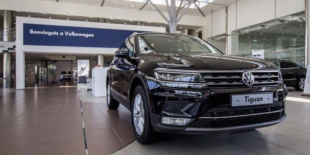 Concesionario del Grupo Volkswagen.