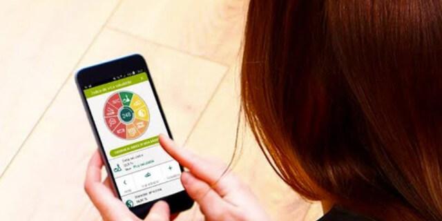 Las mujeres utilizan la app Quiero Cuidarme (Foto: DKV).
