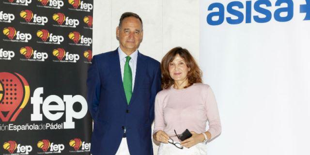Asisa y la Federación Española de Pádel han firmado este mes su acuerdo