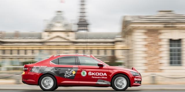 Skoda repite como patrocinador del Tour de Francia