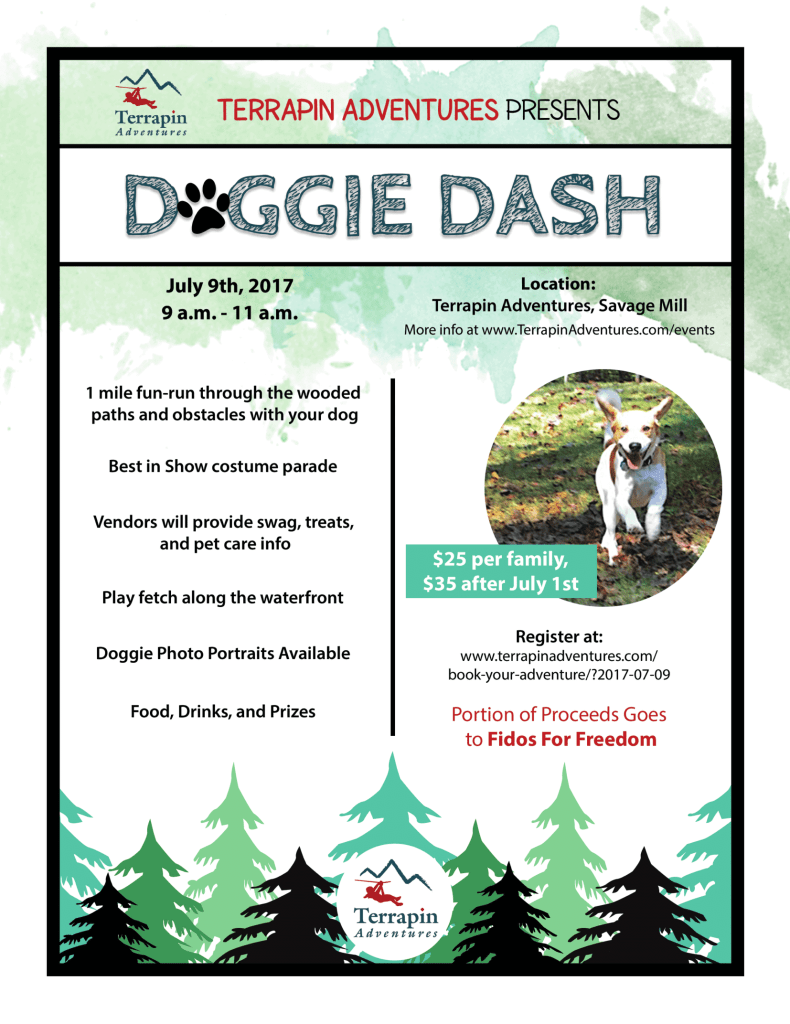 Doggie Dash Flyer 2017