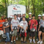 Campers at Terrapin Adventures