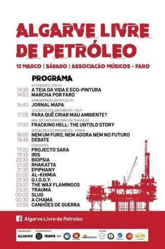 algarve petroleo