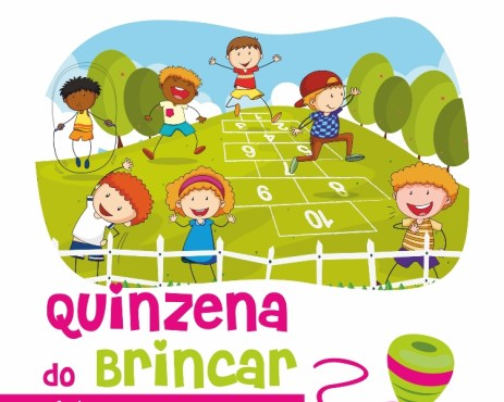 cartaz Quinzena do Brincar_