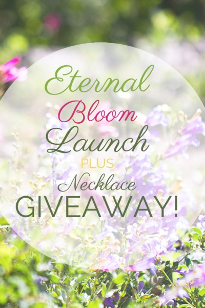 Eternal Bloom launch plus GIVEAWAY!
