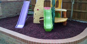 Terrasofta loose fill has up to 90% less dust contend then others