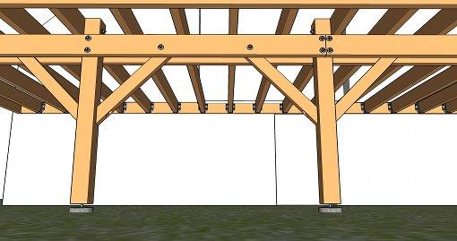 calcul de la section des poteaux