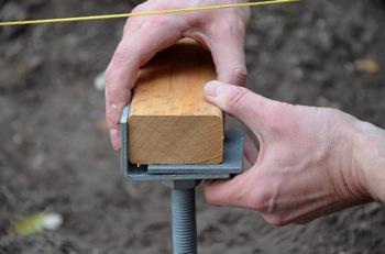 Plots Beton Terrasse En Bois Utilisez Les Plots De Fondation