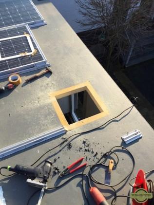 Fan-Tastic Vent installation roof