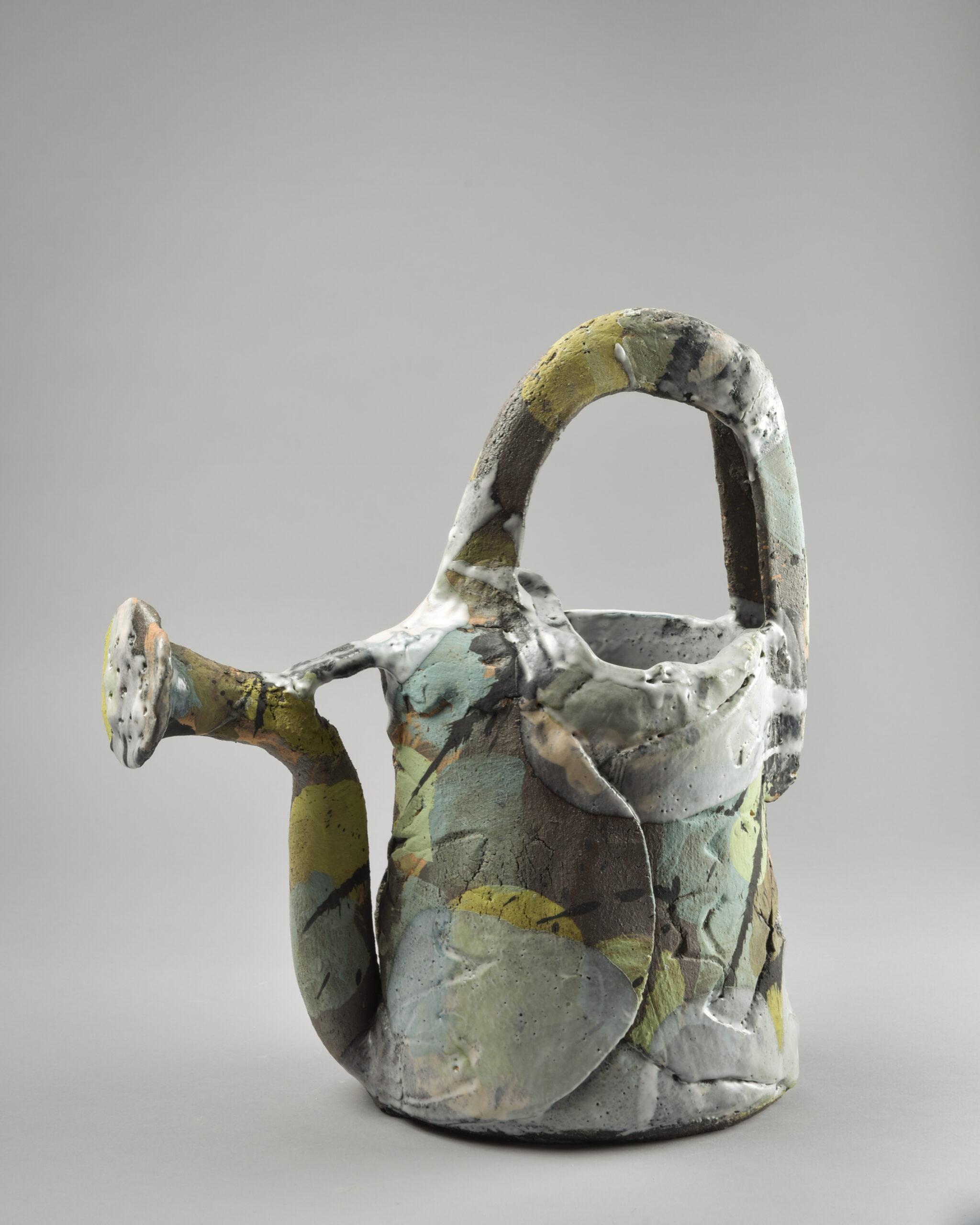 Arrosoir 45 cm scaled | Françoise Nugier | Françoise Nugier | Atelier | Terre et Terres | 25 avril 2019