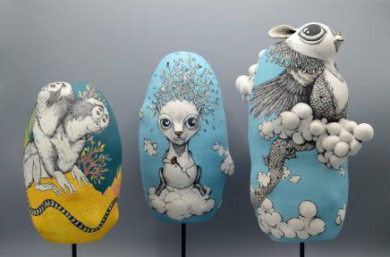 sculpture Porcelaine