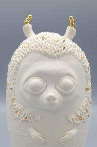Ericius Auréa - sculpture porcelaine