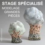 Visuel Stage Grandes Pieces 2020   Terre et Terres   Stage Spécialisé   Stage Spécialisé Modelage Grandes Pièces de juin reporté au 14>18 septembre 2020   Atelier   Terre et Terres   27 avril 2020