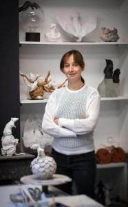 portrait atelier | Nathalie Charrié | Nathalie Charrié | Atelier | Terre et Terres | 28 novembre 2020