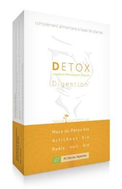 Détox bio - 40 gélules – La véritable Maca associée à une recette éprouvée