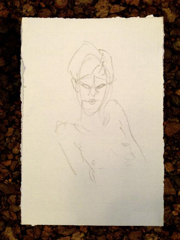 Nettles Drawing