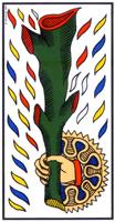 L'arcane Bâton du tarot