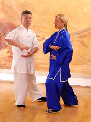Maître Kunlin Zhang et Catherine-Isaure Bousquet