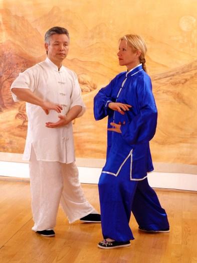 Maître Zhang Kunlin et Catherine-Isaure Bousquet